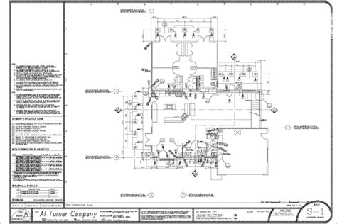 foundation layout exles art and structure building design sle condocs new