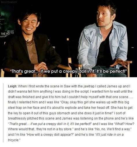 james wan and leigh whannell 17 best images about james wan leigh whannell on pinterest