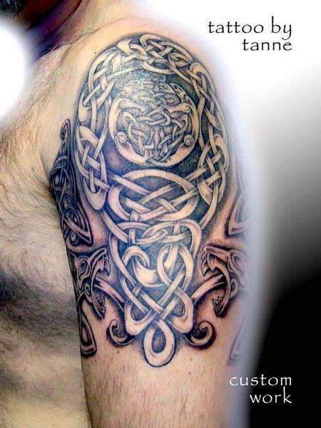 celtic quarter sleeve tattoo designs sleeve piercing and photos on pinterest