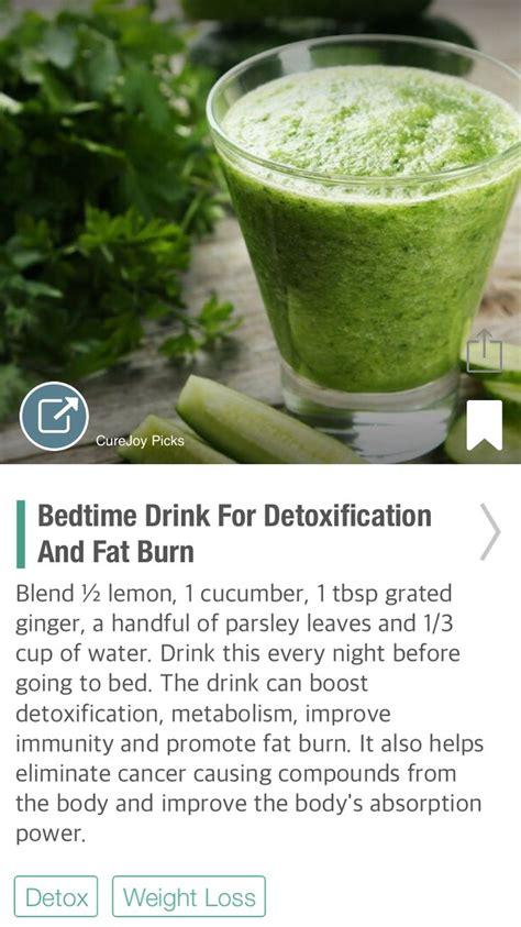 Best Burning Detox Drinks by Best 25 Burning Drinks Ideas On Easy