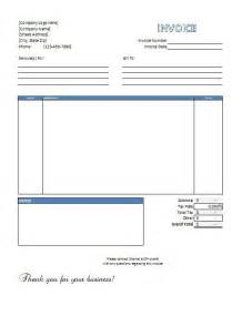 template for invoices free excel invoice templates free to