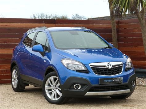 vauxhall mokka used blue vauxhall mokka for sale dorset