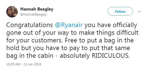 Im Not A Smug Bag Created In Response To Anya Hindmarchs Im Not A Plastic Bag Bag by Spain Urged To Boycott Ryanair Flights Daily Mail