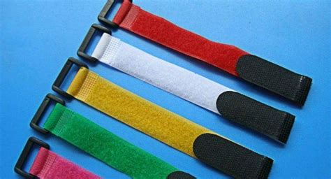 colored velcro china colored velcro ties cable tidy velcro