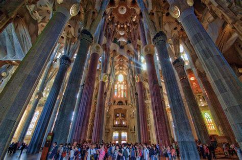 Interior Sagrada Familia by Panoramio Photo Of Barcelona Sagrada Familia Interior