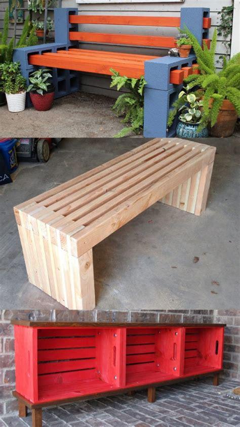 gorgeous easy diy benches indoor outdoor  piece