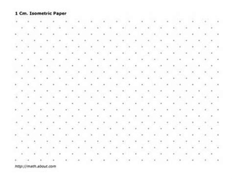 printable isometric paper landscape practice your math skills with this printable 2 centimeter
