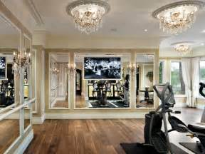 Home Gym Interior Design by Traditional Home Gym