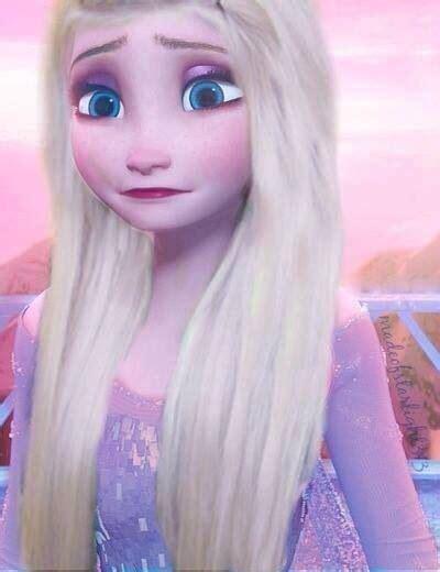 Fc Elsa Syarii Pink Dw elsa so seeing with hair frozen bangs allergies and kid