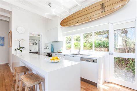 beach house kitchen design serene beach house taken over by coastal beauty