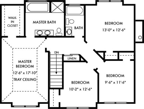standard floor plan dimensions crystal bay homes of l i