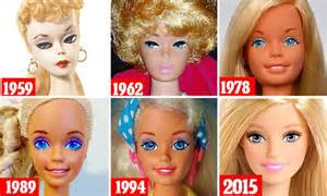 Barbie s evolution charts the beauty trends of every era since 1959