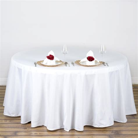 108 quot polyester tablecloth wedding table linens decorations supplies sale ebay