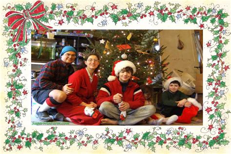 photoshop card templates place faces into santa a variety of free card templates for you to diy