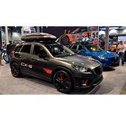 Mazda Brings 3 Concept Versions Of CX 5 Crossover To SEMA