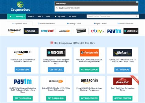 Website Find Exclusive couponzguru review find exclusive coupons and deals