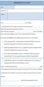 management cover letter template management cover letter template of management cover