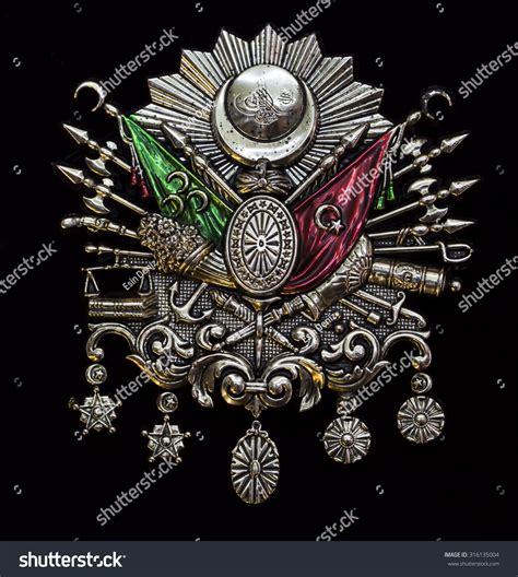 Ottoman Coat Of Arms Ottoman Coat Of Arms Stock Photo 316135004