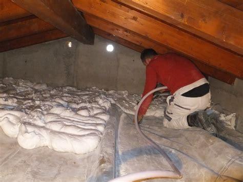 coibentare soffitto insufflaggio soffitta coibentare casa