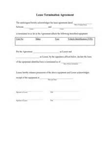 Termination Of Lease Agreement Template by Lease Agreement Template Free Edit Fill And Print