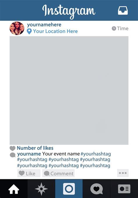 Instagram Frame Prop Google Search Media Projects Instagram Frame Instagram Photo Booth Instagram Frame Template
