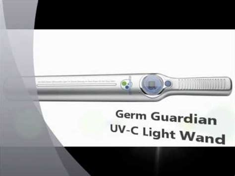 uv c light wand germ guardian uv c light wand youtube