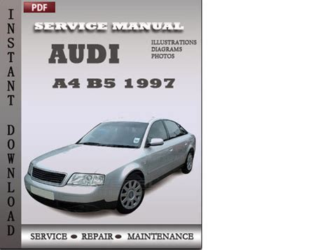 audi a8 1995 service and repair manual download workshop service repair manual audi a4 b5 1997 factory service repair manual download download m