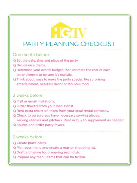 birthday checklist template birthday checklist template 3 free templates in