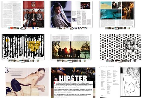 magazine layout research graphic design advanced logbook magazine research