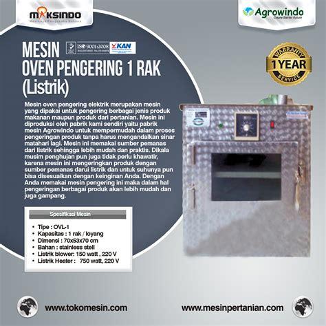 Oven Listrik Di Surabaya jual mesin oven pengering stainless listrik di surabaya