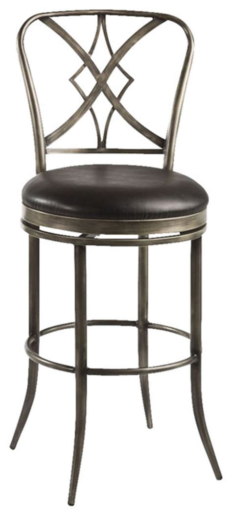 42 inch bar stools hillsdale jacqueline 42 inch swivel counter stool
