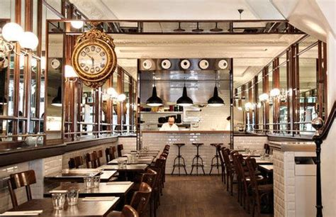 modern french bistro decor  images