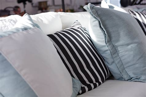 white sofa throw pillows fabrics for the home indoor outdoor fabrics