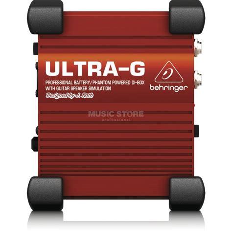 Behringer Ultra G Gi100 Di Box behringer gi100 ultra g