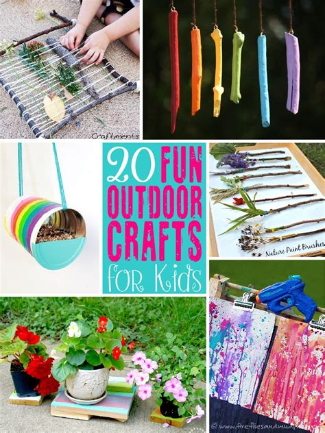 outside crafts for image gallery outdoor crafts