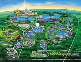 florida disneyland orlando florida map