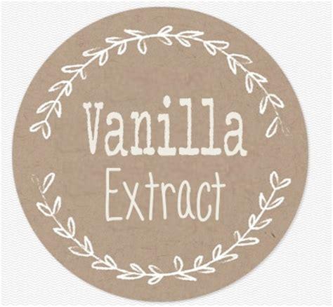 vanilla extract label template sofia clara vanilla extract