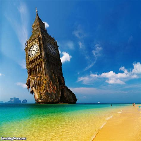 London Clock Tower by Funny Ben Pictures Freaking News