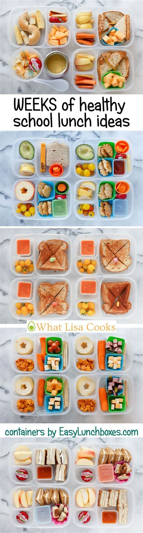 school ideas best 25 healthy school lunches ideas on