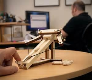Desk Trebuchet by Mini Wooden Ballista Kit Hiconsumption Digital