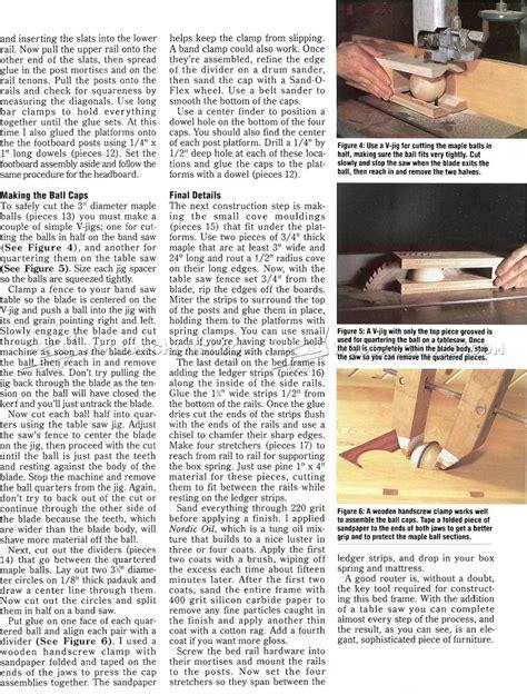 wood bed frames plans bed frame plans woodarchivist