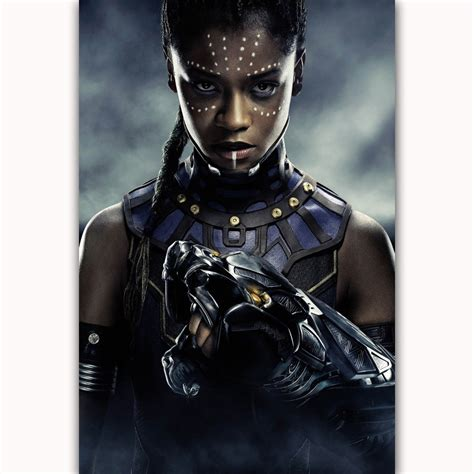 letitia wright character black panther mq438 black panther movie letitia wright shuri textless dc