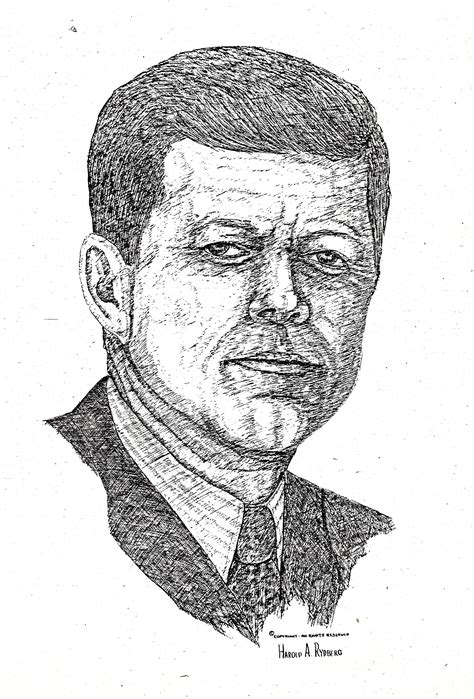 J Harold Bailey Sketches by Harold Skip Rydberg Dealey Plaza Uk