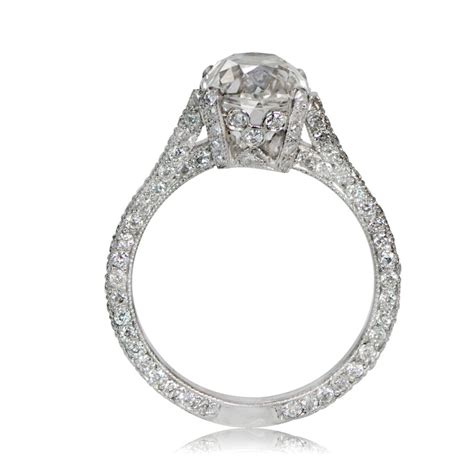 vintage engagement ring styles jewelry 2 25ct vintage style engagement ring