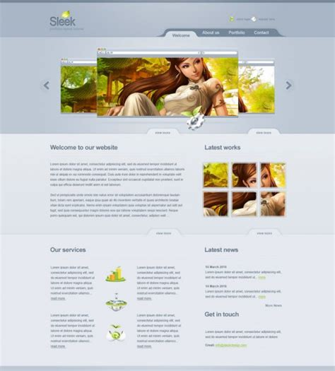 web design layout techniques 22 creative web design photoshop layout tutorials designdune