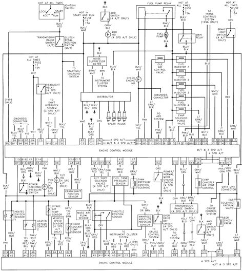 Ecu Wiring Diagram 1992 Suzuki Swift