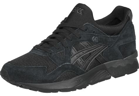 asics black sneakers asics tiger gel lyte v shoes black