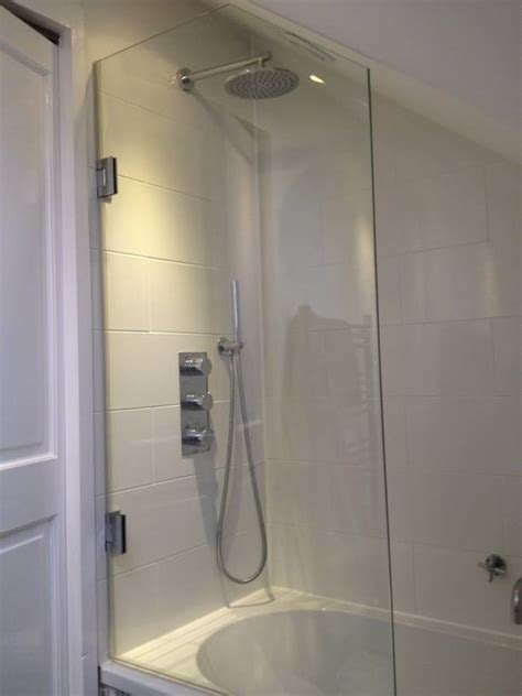 Glass Shower Screens Over Bath glass shower screens over bath best free home design