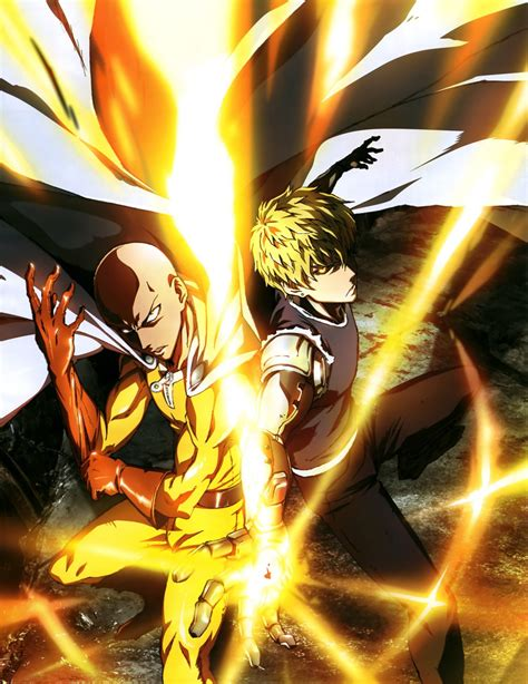 anime one punch man one punch man anime magazine visual 01