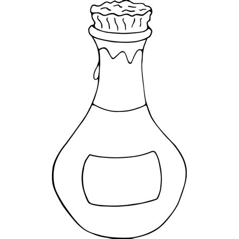 wine bottle coloring pages